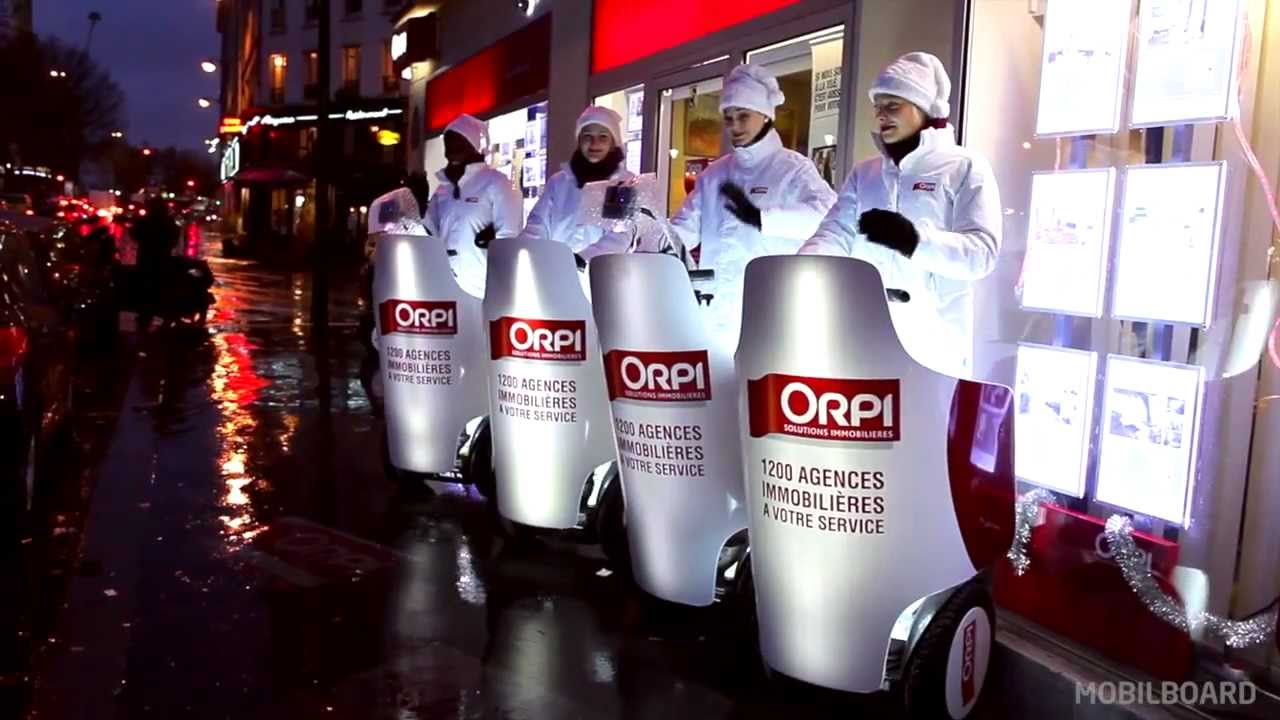 Opération communication street marketing Orpi