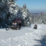 Sensation garanties avec le motoneige en montagne