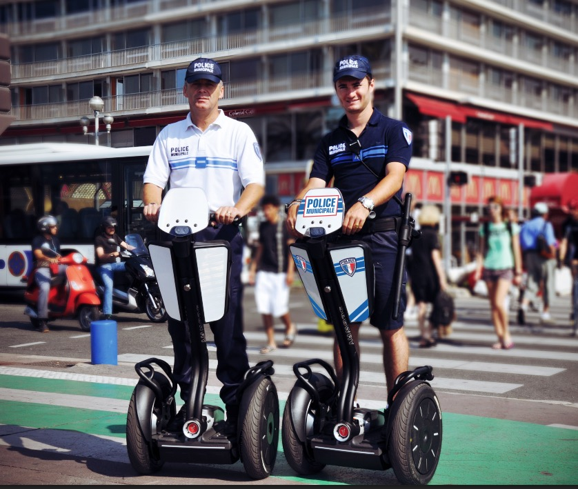 Police Municipale de Nice à Segway
