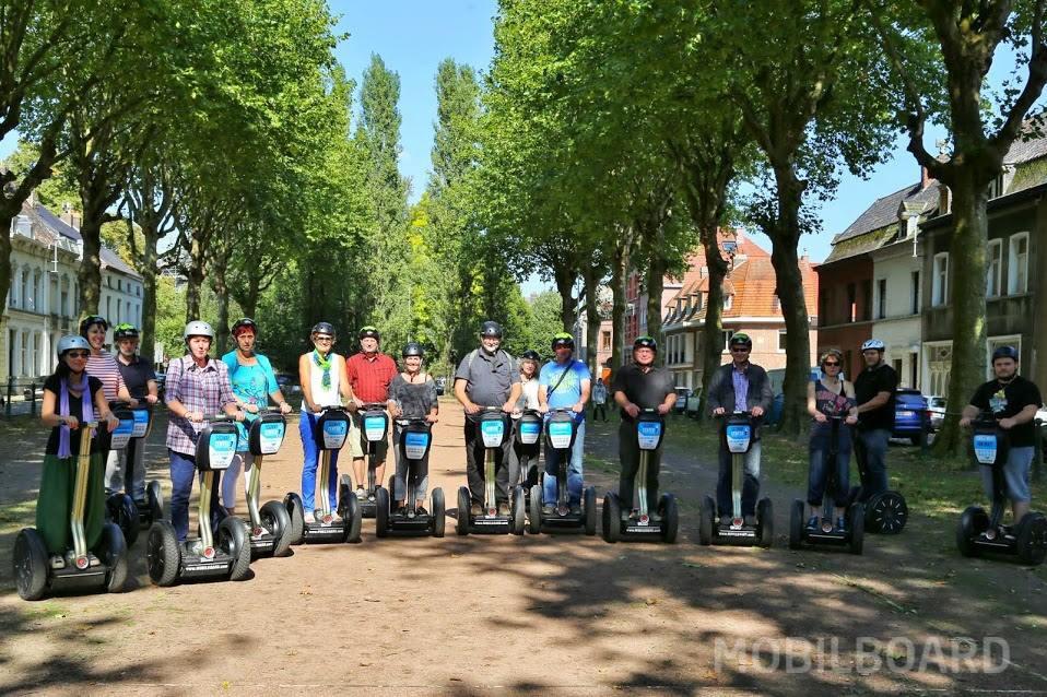 groupe à gyropode Mobilboard en Belgique