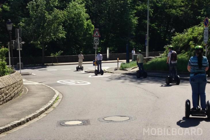 La législation sur la circulation à gyropode Luxembourg