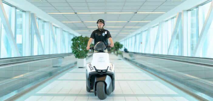 La police a un nouvel engin : le Segway SE 3 patroller