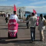 Lancement de produit street marketing Segway