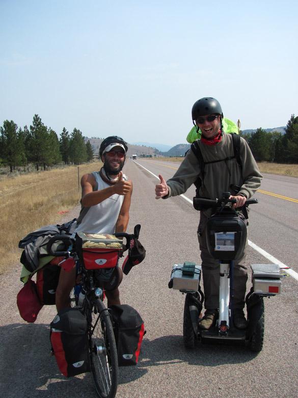 Partir à l'aventure à gyropode Segway