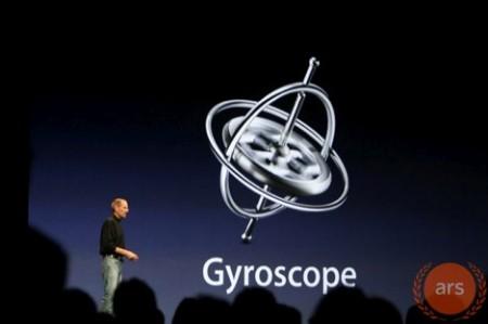 Keynote gyroscope Apple