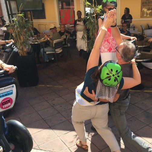 EVJF activité fun gyropode Segway à Nice