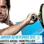 Open Sud-de-France tennis 2015