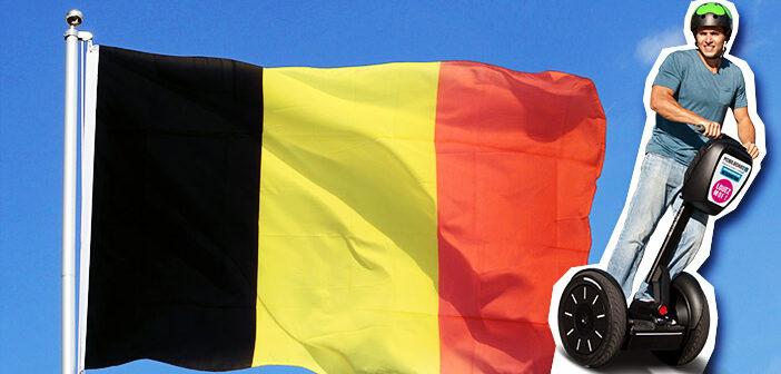 drapeau gyropode Belgique