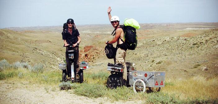 Travellers à gyropode Segway