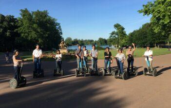 Balade à Lyon en gyropode au Parc de la tête d'Or