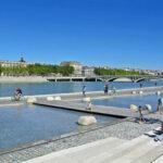 Lyon - les berges du Rhône