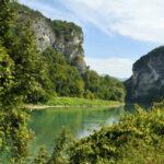 Vue du Rhône dans le Bugey