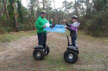 Cadeau randonnée fête des pères à gyropode Segway