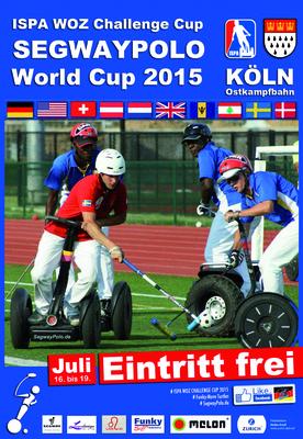 affiche coupe du monde Segway polo 2015