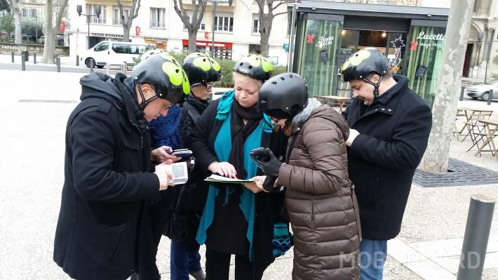 activité chasse au trésor en groupe avec Mobilboard Nîmes