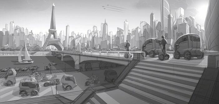 La mobilité urbaine vue par Deddens