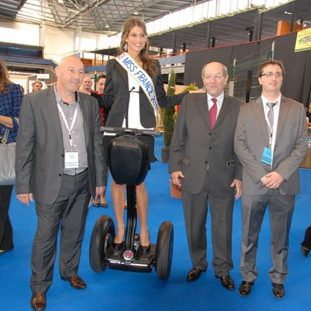Laury Thilleman Miss France à Segway