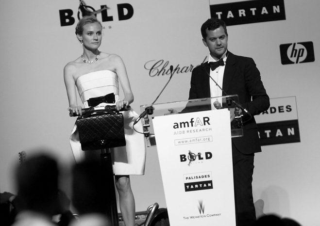 le gyropode Segway Chanel a l'amfar de Cannes