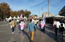 opération événementiel Montpellier place de la comédie