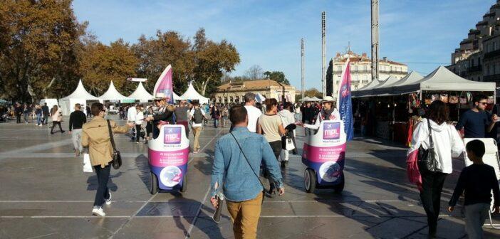 Montpellier : 2 opérations de street-marketing pour l'aéroport
