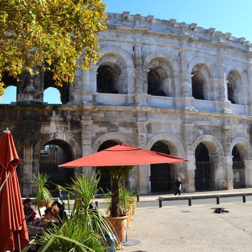 Visitezde façon originale les arènes de Nîmes en Segway