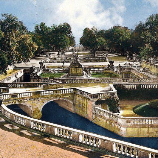 Visiter les jardins la Fontaine de Nîmes