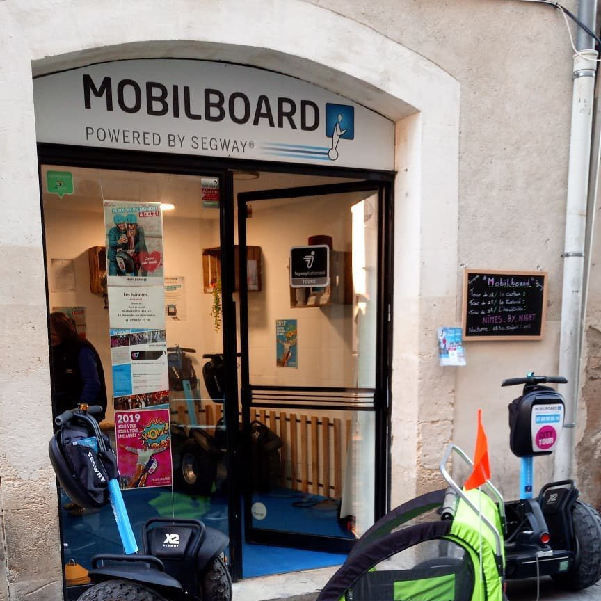 agence Nîmes gyropode Segway Mobilboard