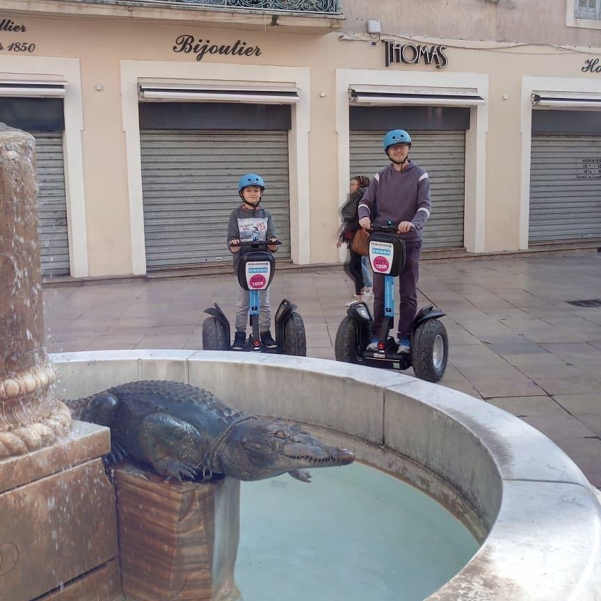 Visiter Nîmes en Gyropode Segway