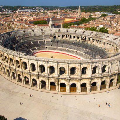 découvrez les Arènes de Nîmes