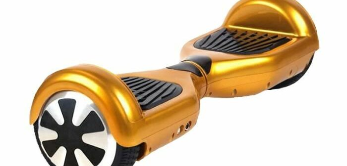 hoverboard gold Segway