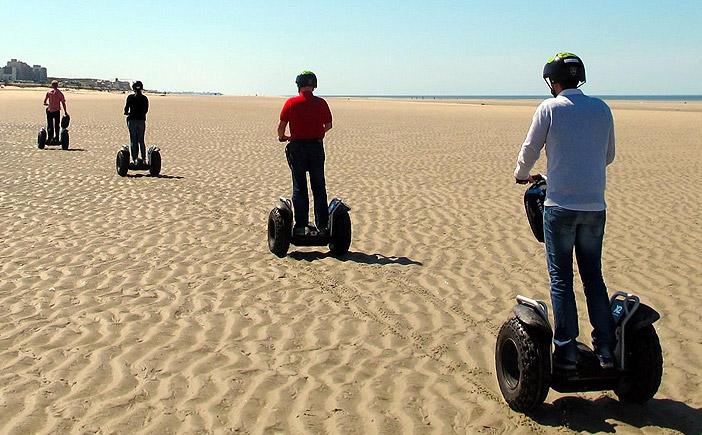Visiter les plages du Touquet avec Mobilboard