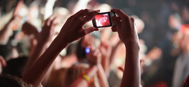 smartphone-concert