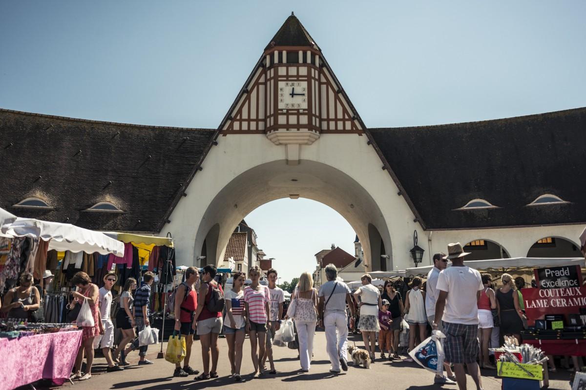 Le marché Touquet Paris plage