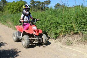 activité pour les enfants dans le gyroparc de Plouharnel