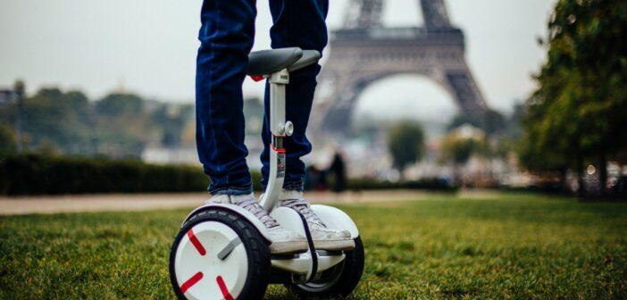 Ninebot mini pro tour Eiffel