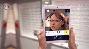 réalité augmentée essayer lunettes