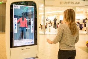 dressing virtuel miroir réalité augmentée