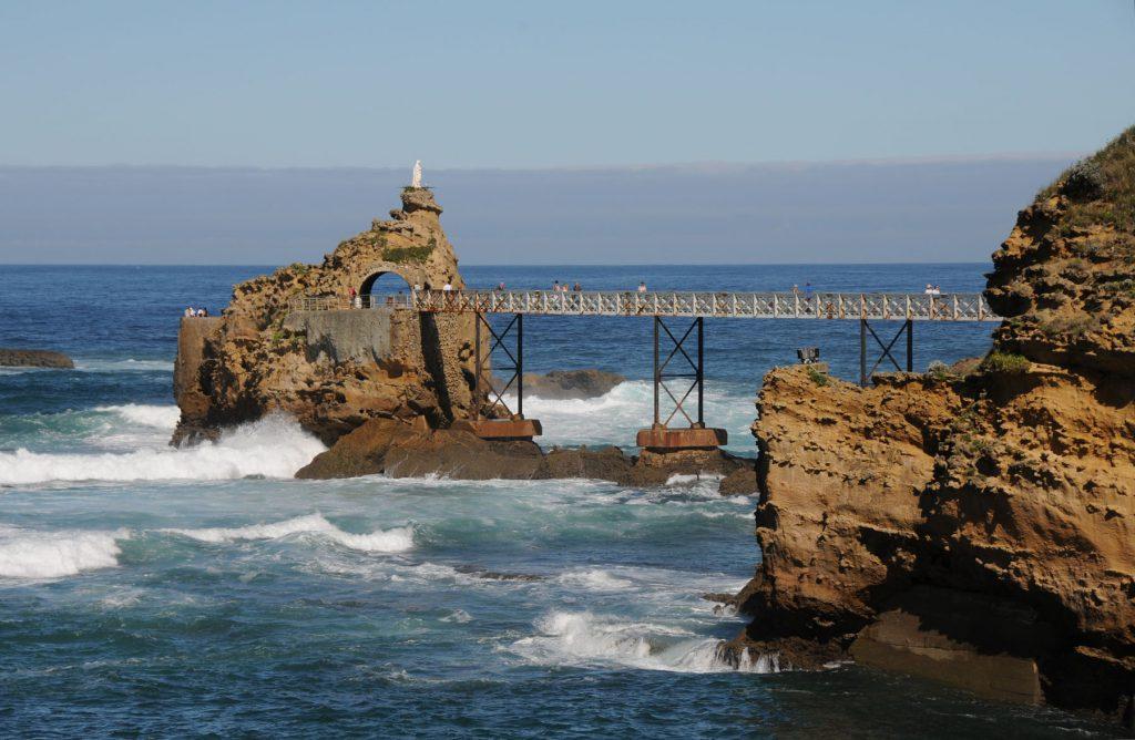 Biarritz Rocher Vierge