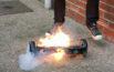 smartboard flammes incident