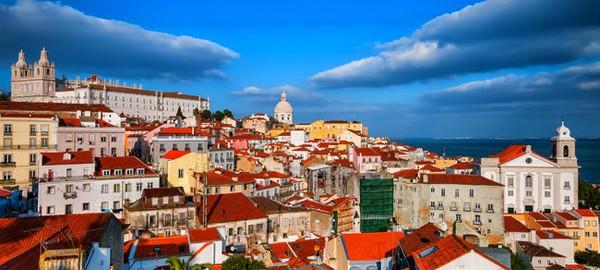 Les toîts de Lisbonne