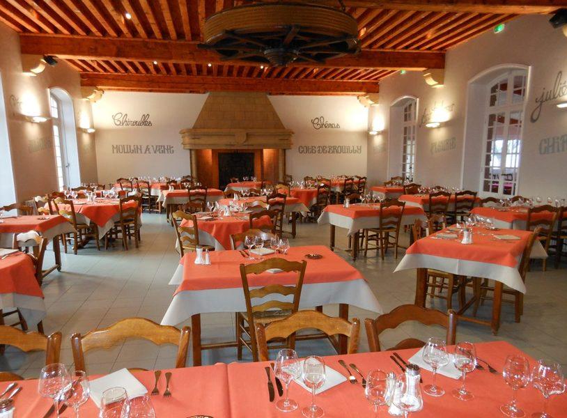 La Maison des Beaujolais restaurant avec Mobilboard