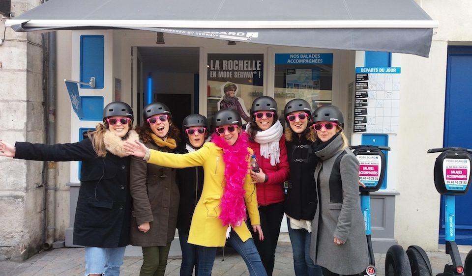 La Rochelle : ballade entre filles en segway