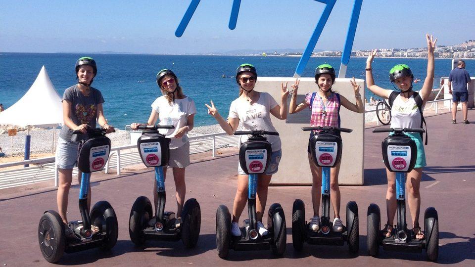 Mobilboard Nice Promenade des Anglais activites