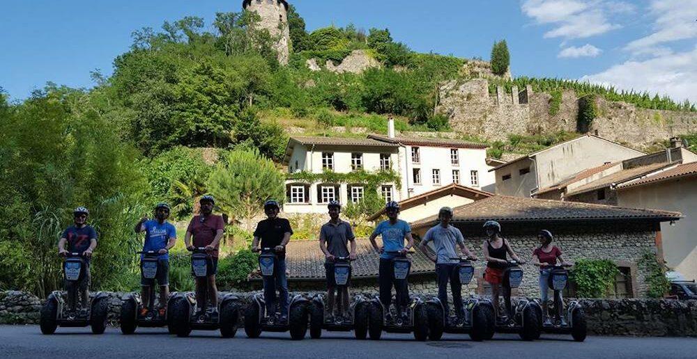 Segway tour spots Auvergne Rhone-Alpes Mobilboard team