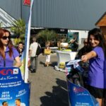 tournoi de tennis : street marketing Segway