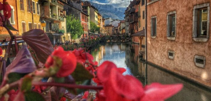 Annecy ou la petite Venise en Segway