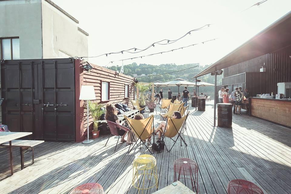 Staycation : où sortir à Lyon - Rooftop le Sucre