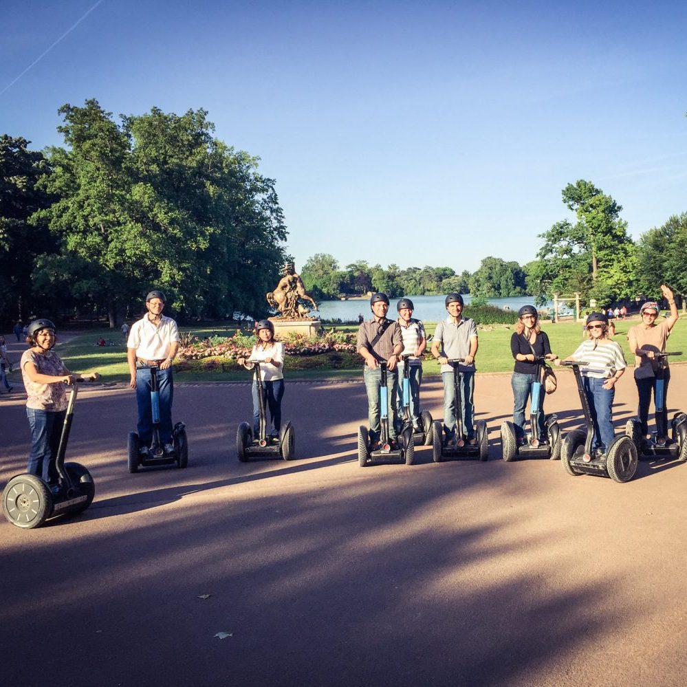 Visiter le Parc de la Tête d'Or à gyropode Segway avec Mobilboard