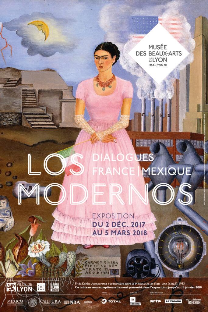 Exposition «Los Modernos»à Lyon