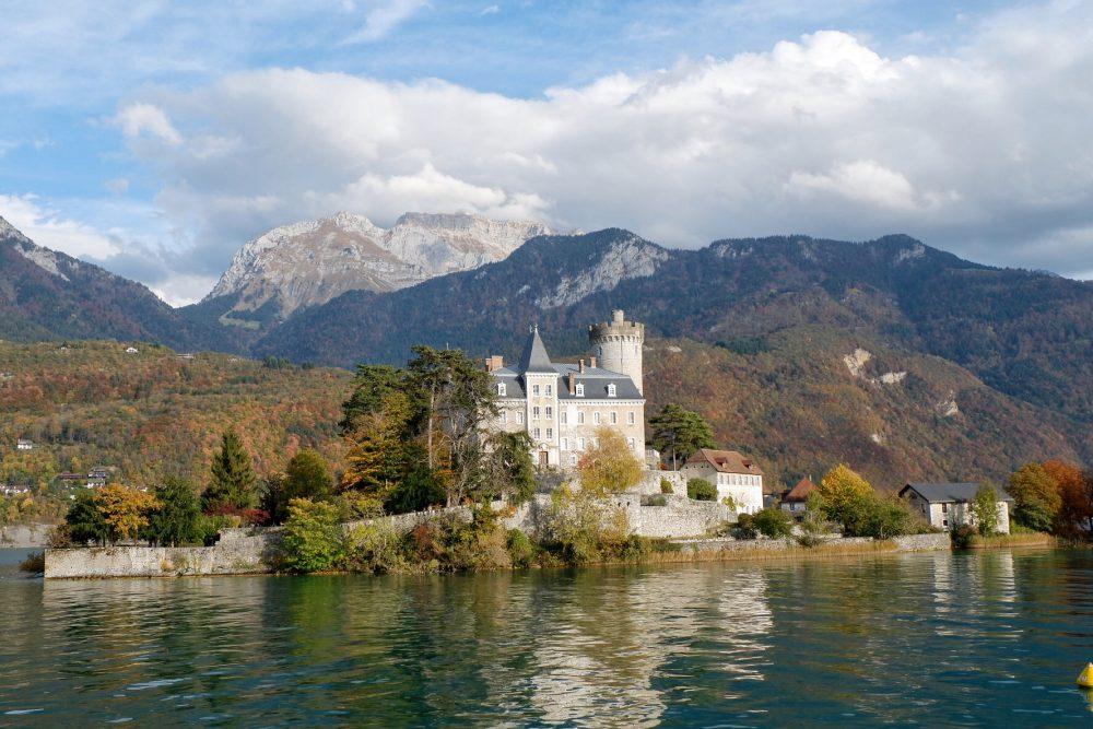 Visiter le lac d'Annecy : Château Ruphy